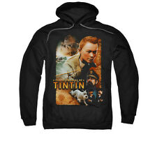 The Adventures Of Tintin Comic Character Adventure Poster Adult Pull-Over Hoodie