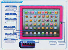 New Y PAD Educational Toy Child Learn English Alphabets Easily Computer Tablet