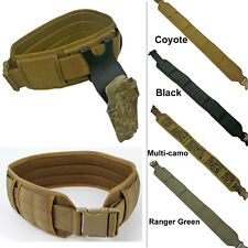 Tactical Low Profile MOLLE War Belt [3 colors option]