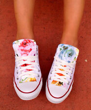 Custom Converse Chuck Taylor All Stars FLORAL ANY SIZE