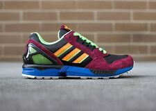Adidas Originals ZX 9000 zx9000 25th anniversary Sneakers New, Burgandy D65499