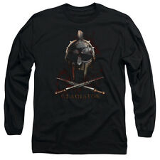 Gladiator Historical Drama Ancient Rome Movie Helmet Adult Long Sleeve T-Shirt