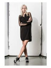 BNWT Religion Duke Shirt Dress in Jet Black