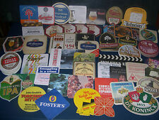 SET OF FOUR COLLECTABLE BEER MATS - some vintage - chose from drop-down menu