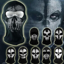Call of Duty Ghost Balaclava Motorcycle Cycling Paintball Cosplay Full Face Mask