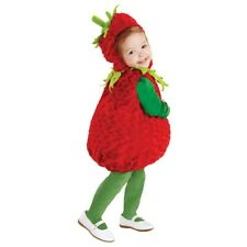 Belly Babies Strawberry Costume Baby Cute Plush Halloween Fancy Dress