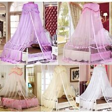 Hight Quality Romantic Bed Dome Netting Canopy Princess Round Mosquito Net