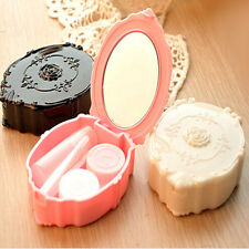New Contact Lens Case Container Travel Kit Pocket Size Storage Holder 3 Colors
