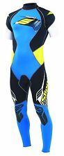 Slippery Fuse Mens Wetsuit S11 Black/Blue