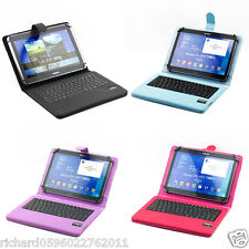 "SUPERNIGHT Universal 9-10"" Tablet Portfolio Case Detachable Bluetooth Keyboard"