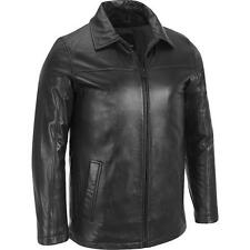 Wilsons Leather Mens Front Zip Leather Hipster W/ Thinsulate Lining