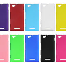 Thin Hard Plastic Cover Case Skin for Sony Xperia M Dual C1905 C1904 C2004 C2005