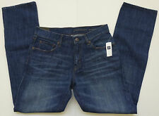 Mens GAP 1969 PREMIUM STRAIGHT DEEP BLUE JEANS Sizes 30-40 - NWT Retail - $68