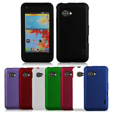 2-PC Color Rubberized Hard Case Snap On Phone Cover For Verizon LG Enact VS890
