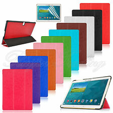 """For Samsung Galaxy Tab S10.5"""" SM-T800 Slim PU Leather Case Cover Stand Tri-fold"""