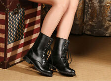 New Dr. Doc Martens Women Black Leather Boot Shoes