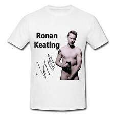 WS017 Ronan Keating Sexy autographed signed T-SHIRT T SHIRT SIGNATURE