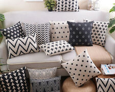 "18"" Saqure Morden Pillow Case Home Decor Room Car Sofa Cushion Cover 13 Pattern"