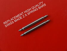 QUALITY SWISS MADE REPLACEMENT SPRING BARS  TO FIT TISSOT WATCH HIGH QUALITY BAR