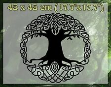 CELTIC TREE OF LIFE. Harmony and balance home decoration 45x45 wall vinyl decal