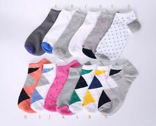 6pairs TOMMY Women Sport Crew Ankle low cut  Socks Peds different Style 6-9.5