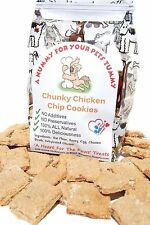 Homemade Chicken Chip Cookies For Your Dog, The BEST Dog Treats Around Period!!