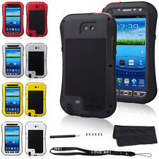 NEW Waterproof Aluminum Gorilla Metal Case for Samsung Galaxy Note 2 N7100 Cover