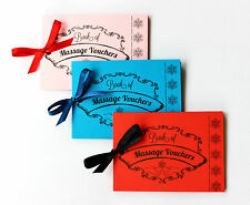 Love Massage Vouchers Coupons Romantic Valentine's Gift Present Him Her Card