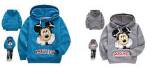 Baby Kids Boys Toddlers Hoodies Tracksuit Children Clothing Set Sportswear 1-7Y