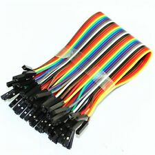 40PCS 2.54MM Dupont Wire Cable Female to Female + Male to Female + Male to Male