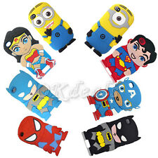 Cute Cartoon Super Hero Soft Cover Case For Ipod touch 4 5th Iphone 4/5S