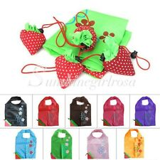 Foldable Strawberry Reusable Recycle Totes Grocery Supermarket Eco Shopping Bag