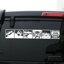 Various size/color 4X4 Off Road Funny Decal Sticker Fit for Jeep