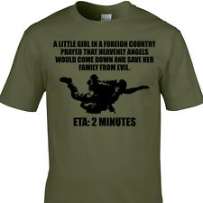 US Special Forces T-Shirt United States Army Military Airborne Green Berets