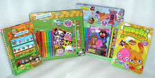 Moshi Monsters Stationery - Assorted Super School Sets or A5 Note Books - New