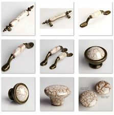 541111 Decorative Vintage Wardrobe Cabinet Drawer Knob Door Cupboard Handle Set