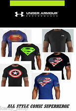 Tshirt Under Armour superheroes edition