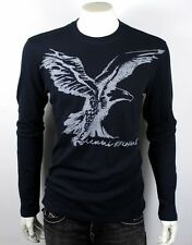 Armani Exchange Men's Eagle Logo Thermal Shirt/Top - Midnight