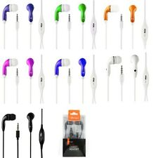 3.5MM Stereo Headset Headphone w/ Mic for Sony Phones In-Ear Earbud