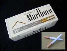 Make your own 250 500 1000 Marlboro Gold cigarette filter tubes with 23mm filter