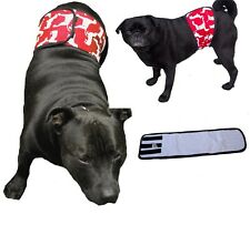 Dog Belly Band XS-XXL Red - Male Toilet Training Diaper Nappy Pants Puppy Pet