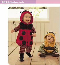 Bee shape baby clothes,Long-sleeved leotard, Baby Climbing clothes Bodysuit