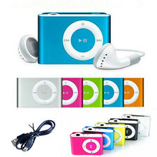Stylish Mini Clip Metal USB MP3 Music Media Player Support 1 to 8G Micro SD TF