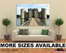 Wall Art Canvas Picture Print - Bodiam Castle in East Sussex England 3.2