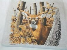"DEER HUNTING T-SHIRT  ""  DEER IN THE WOODED AREA ""   T-SHIRT MOST POPULAR"