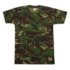 Kids Army Camouflage Cotton T-Shirt - Army Roleplay For Ages 5 - 14 Years
