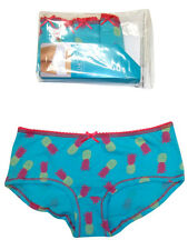 Knickers - M&S TURQUOISE Pack of 5 Pineapple Print Shorts BUY 2 OR MORE 20% OFF