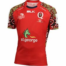 Queensland Reds Indigenous Jersey 'Select Size' S-7XL BNWT4