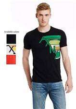 New Armani Exchange AX Mens Slim Muscle Fit Rainbow Tee Shirt e6x674