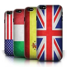 STUFF4 Phone Case/Back Cover for Apple iPhone 6/6S /Flags